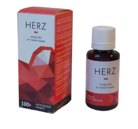 Засіб від гіпертонії Herz, краплі від гіпертонії Херз, краплі для лікування гіпертонії HERZ, позбавлення