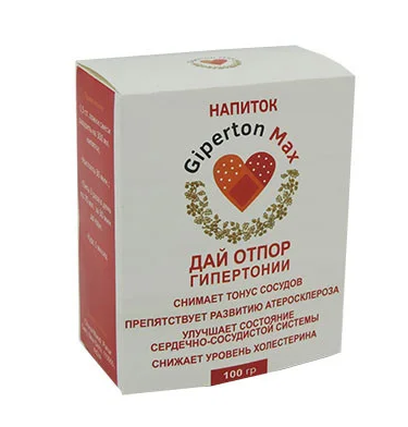 Напій від гіпертонії Giperton Max Гипертон Макс, напій проти гіпертонії, лікування гіпертонії, гипертон макс