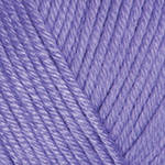 YarnArt Baby cotton 418 (полухлопок) Сирень, фото 2