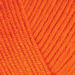 YarnArt Baby cotton 421 (полухлопок) Апельсин, фото 2