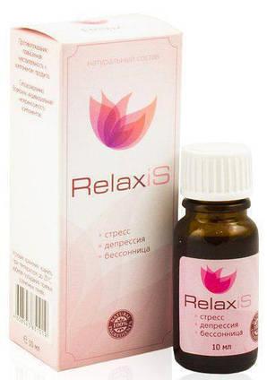 RelaxiS - Капли для борьбы со стрессом, бессонницей и депрессией, успокоительные капли релаксис, валерьянка