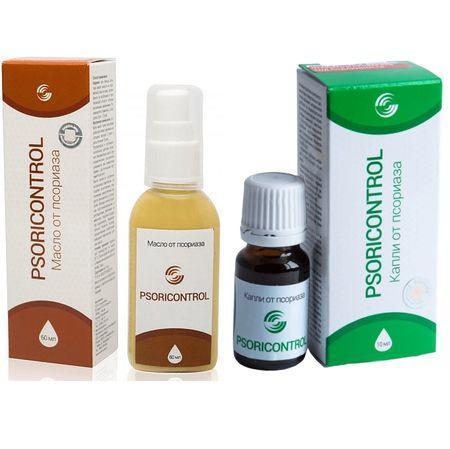 Натуральне масло Psoricontrol - крем від псоріазу, Псориконтрол Ефективний засіб від себореї Псори контрол