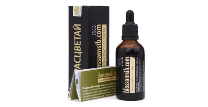 Натуральні вітаміни, РОЗКВІТАЙ дієтична добавка вітамінна, Вітамінний еліксир молодості blossomsib