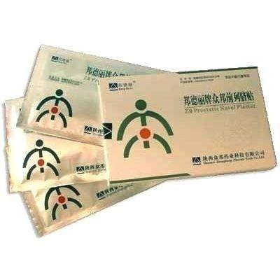 ПЛАСТИР ZB PROSTATIC NAVEL PLASTER ВІД ПРОСТАТИТУ, пластир проти простатиту, пластир для лікування простатиту
