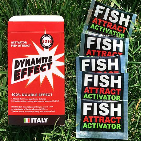 Оригінал! Активатор клювання Dynamite effect, динаміт ефект активатор клювання, підгодовування для риб принада