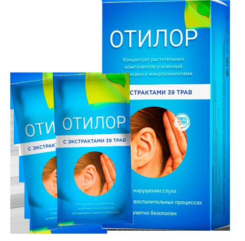 Отилор средство для восстановления слуха, концентрат для восстановления слуха отилор, отилор для слуха