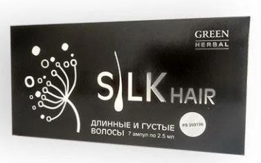 Засіб від випадіння волосся SILK HAIR, ефективна сироватка для росту і відновлення волосся СІЛК ЗБЕРЕЖЕННЯ