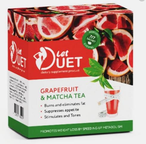 Let Duet Двофазний напій для схуднення День Ніч, Років Дует комплекс для схуднення день і ніч