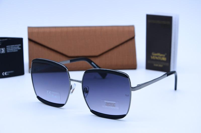 Женские квадратные очки солнцезащитные Marco Venturi 878 c01