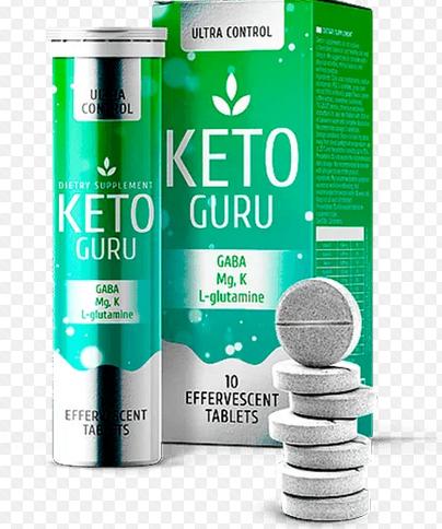 Keto Guru - Шипучі таблетки для схуднення кето гуру, пігулки для спалювання жиру