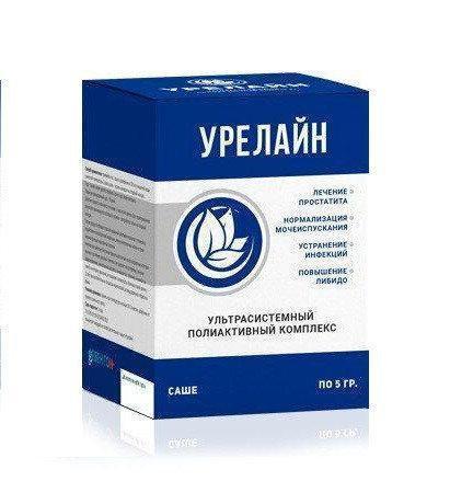 Урелайн - Порошок против простатиа, порошок от простатита урелайн, саше от простатита