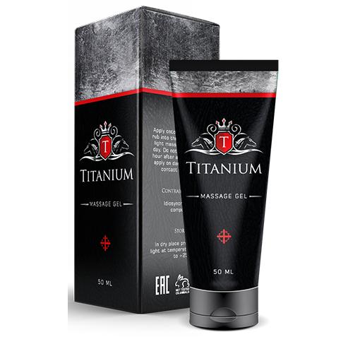 Крем для збільшення члена Тітаніум, крем Titanium, Титаниюм, Мазь для збільшення члена, крем пеніса