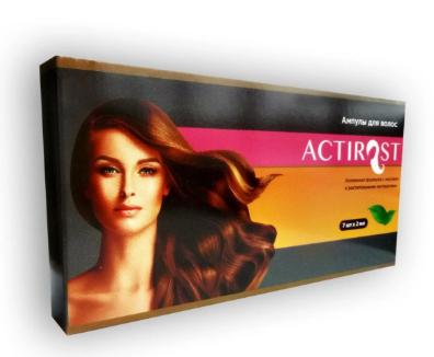 Быстродействующие капли для роста и восстановления волос АКТИРОСТ (ACTIROST) Средство для укрепления и роста