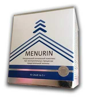 Menurin - Комплекс от простатита Менурин, минурин от простатита