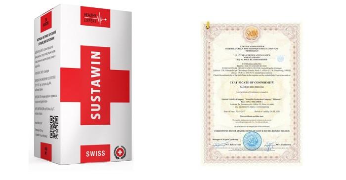 Капсулы для суставов Sustawin средство для быстрого восстановления Суставин, таблетки для лечения суставов