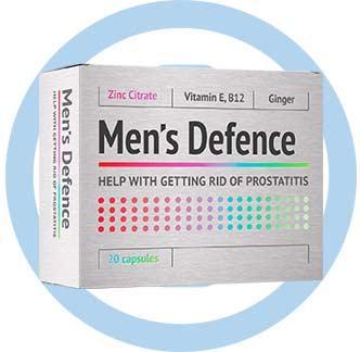 Эффективное средство для лечения простатита Men's defence капсулы от простатита, менс дефенс капсулы