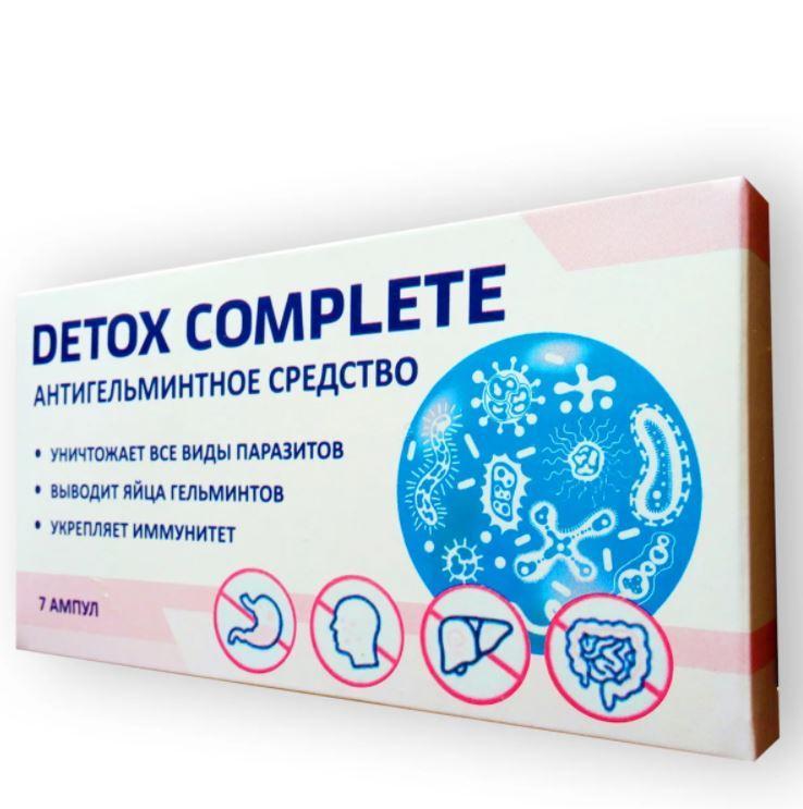 Detox Complete капли от паразитов, Детокс комплит, глистогоное, капли от глистов, препарат от паразитов