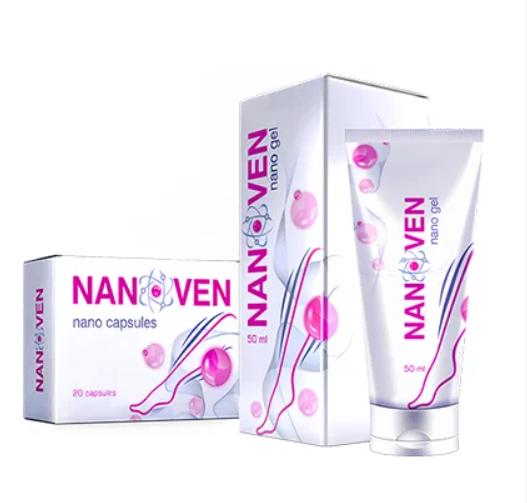 Nanoven від варикозу + капсули, крем від варикозу Нановен капсули, мазь від варикозу, варикоз, лікування