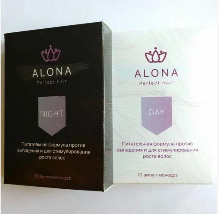 Сироватка від випадіння волосся Alona, сироватка проти випадіння волосся Алона