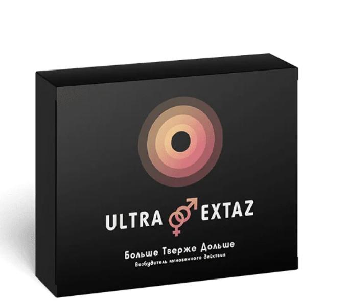 Ultra Extraz Капсулы для повышения потенции, Ультра Экстаз капсулы для эрекции, повышение потенции таблетки