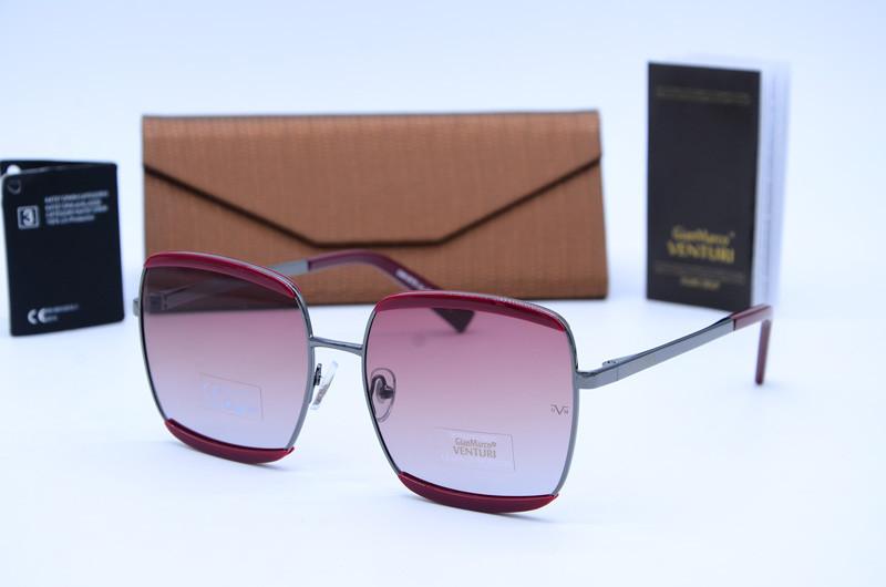 Женские квадратные очки солнцезащитные Marco Venturi 878 c04