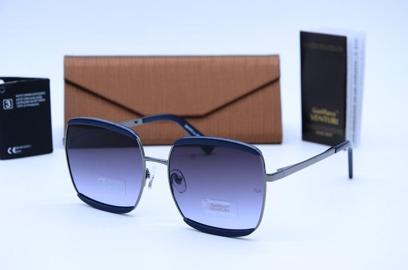 Женские квадратные очки солнцезащитные Marco Venturi 878 c06