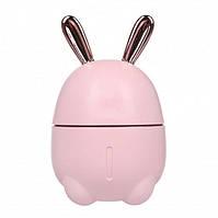 Зволожувач повітря HUMIDIFIER Rabbit рожевий