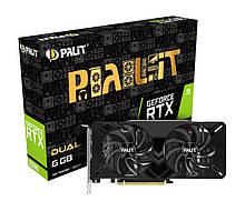 GF RTX 2060 6GB GDDR6 Dual Palit (NE62060018J9-1160A-1)