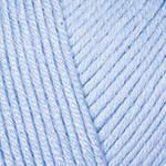 YarnArt Baby cotton 450 (полухлопок) Светло-голубой, фото 2