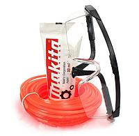 Набор Редукторная смазка + Защитные очки с леской 2.4 мм длина 15 м
