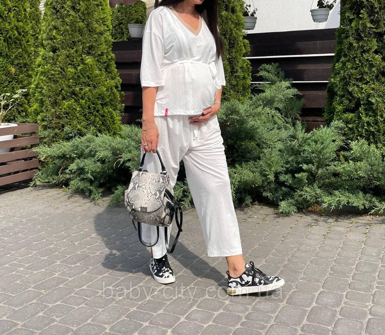 Костюм для беременных модный.