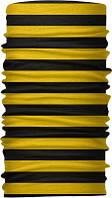 Бафф бандана-трансформер Черно-желтый
