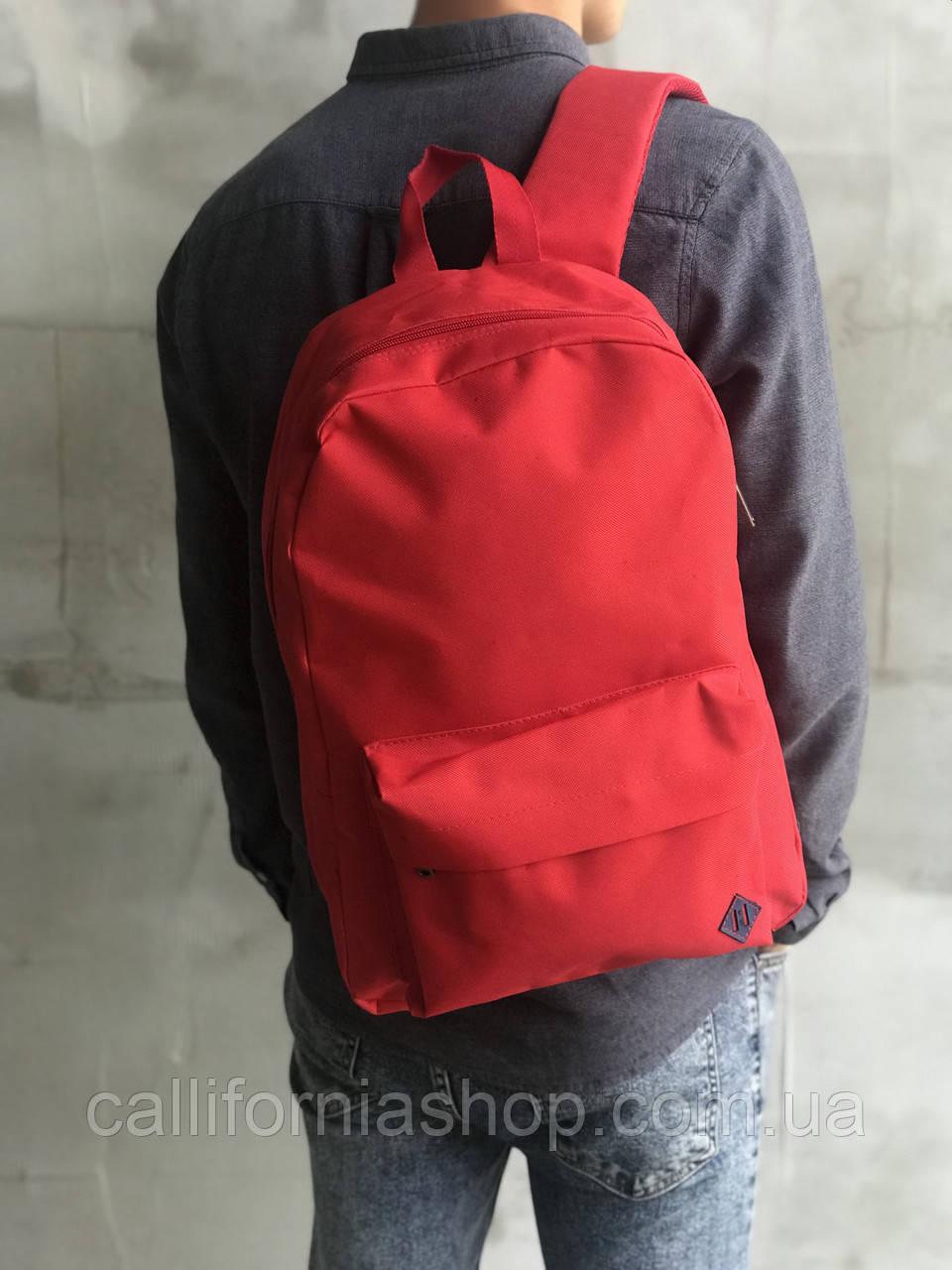 Рюкзак чоловічий червоний міський повсякденний на 15 літрів