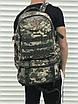 Рюкзак камуфляжный мужской трансформер с раздвижным дном на 45 литров с системой Молли MOLLE, фото 4