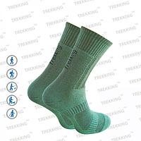 """Шкарпетки трекінгові унісекс демісезонні, модель """"Middle""""- 75% бавовна, 20% поліамід, 5% еластан (L /44-47)"""