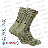 """Шкарпетки трекінгові унісекс літо, модель """"MidLight"""" - 75% бавовна, 20% поліамід, 5% еластан (L /44-47)"""