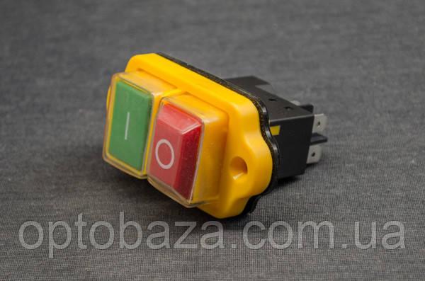 Кнопка Вкл/Выкл на 4 клеммы для бетономешалки