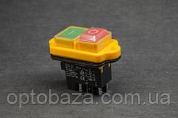 Кнопка Вкл/Выкл на 4 клеммы для бетономешалки, фото 3