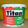 Глубокоматовая акриловая моющая краска для стен Matt Latexs Titan Eskaro (10 л)