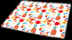Охолоджуючий килимок для собак,(принт Коктейль) 90х50см