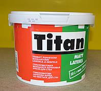 Глубокоматовая акриловая моющая краска для стен Matt Latexs Titan Eskaro (2.5 л)