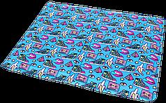 Охолоджуючий килимок для собак,(принт Fresh Pop) 65х50см
