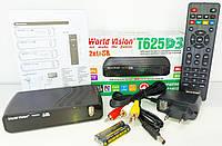 WORLD VISION T625 D3 цифровий ефірний DVB-T2 тюнер