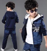 Костюм детский модный для мальчика Джинс
