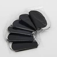 Вкладыши от пота для одежды черные, 20 пар