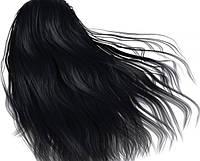 Краска для волос с пчелиным воском Echosline 1.10 черно-синяя/фарба для волосся 100 мл