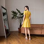 Легке плаття з розкльошеною спідницею і розрізами на талії літня з коротким рукавом (р. 42-48) 64032617, фото 6