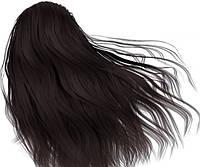 Краска для волос с пчелиным воском Echosline 3.0 интенсивный черный каштан/фарба для волосся 100 мл