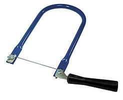 Лобзик ручний, рамка круглого перерізу MASTERTOOL 14-2202