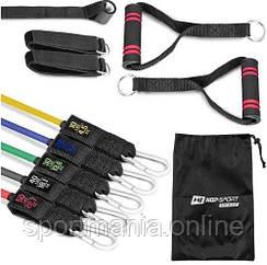 Набор резинок с эспандерами HS-R050RT Разноцветный
